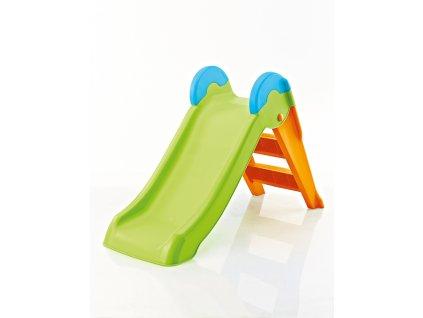 BOOGIE skluzavka - zelená/oranžová