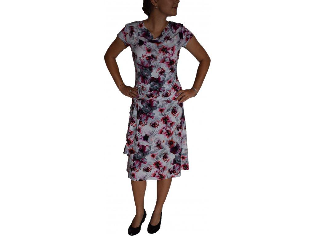 Šaty Centex růžové s vodou