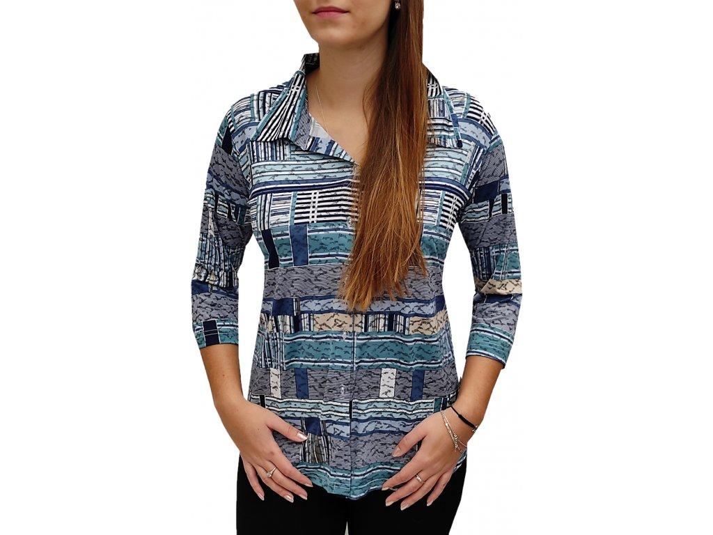 Košile Pratto modrá