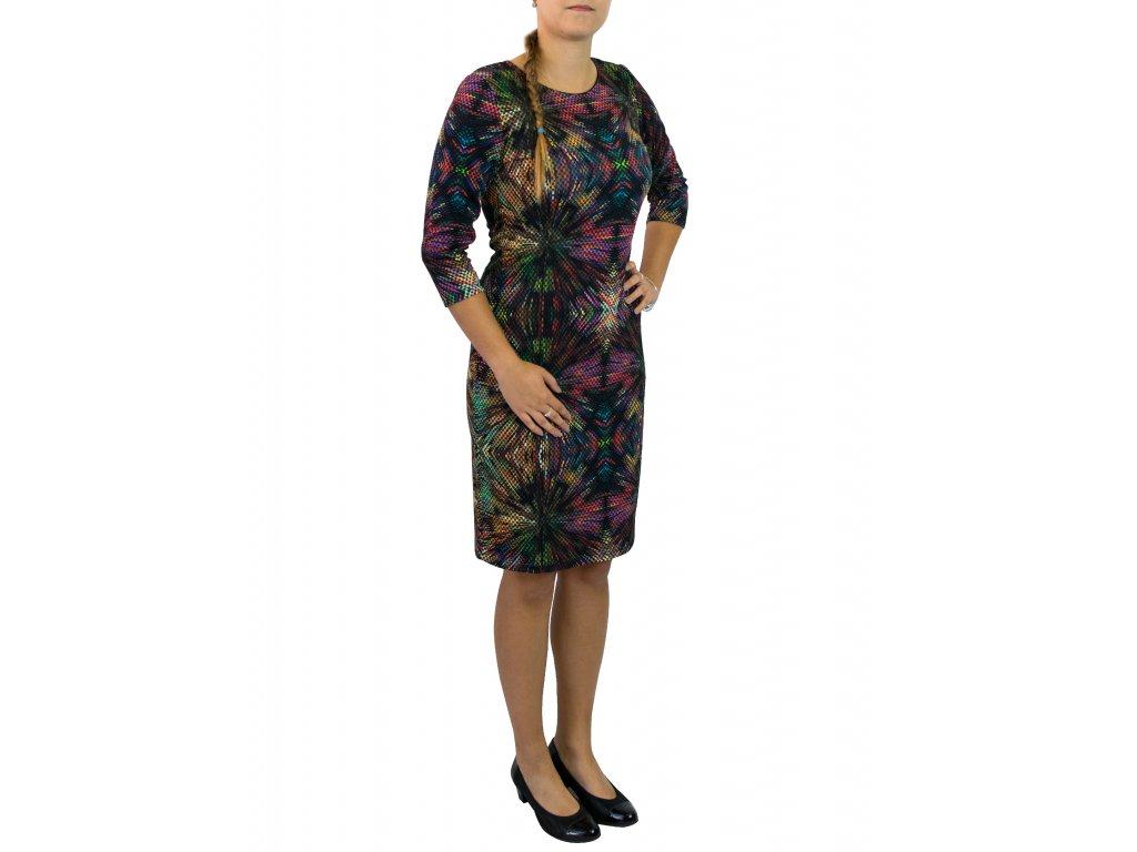 šaty Sabatti barevné