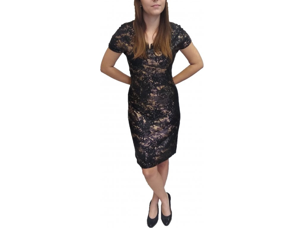 Šaty Ina - Victorie zlaté