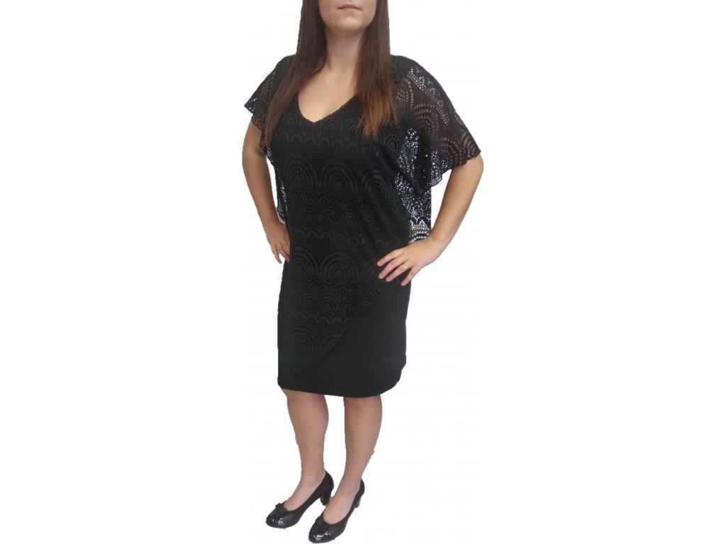 Šaty Sabatti černé - Lola