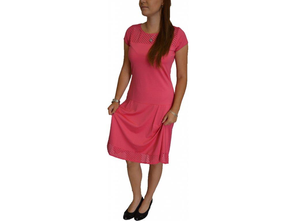 Šaty Sabatti růžové