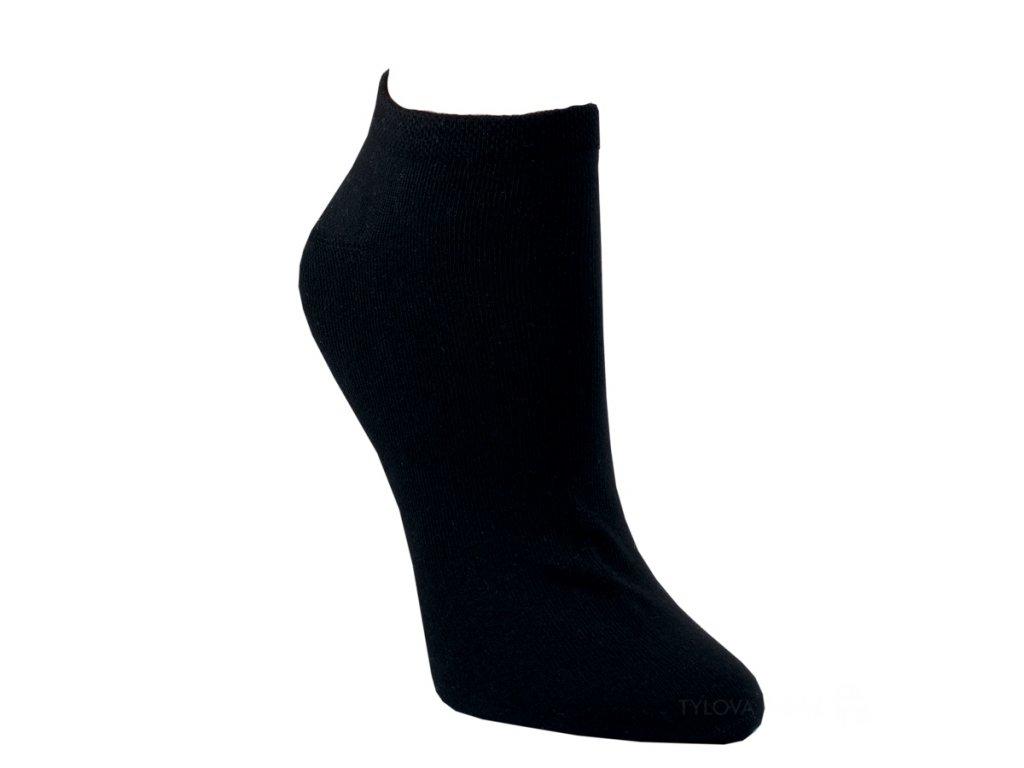Ponožky RS nízké-černé