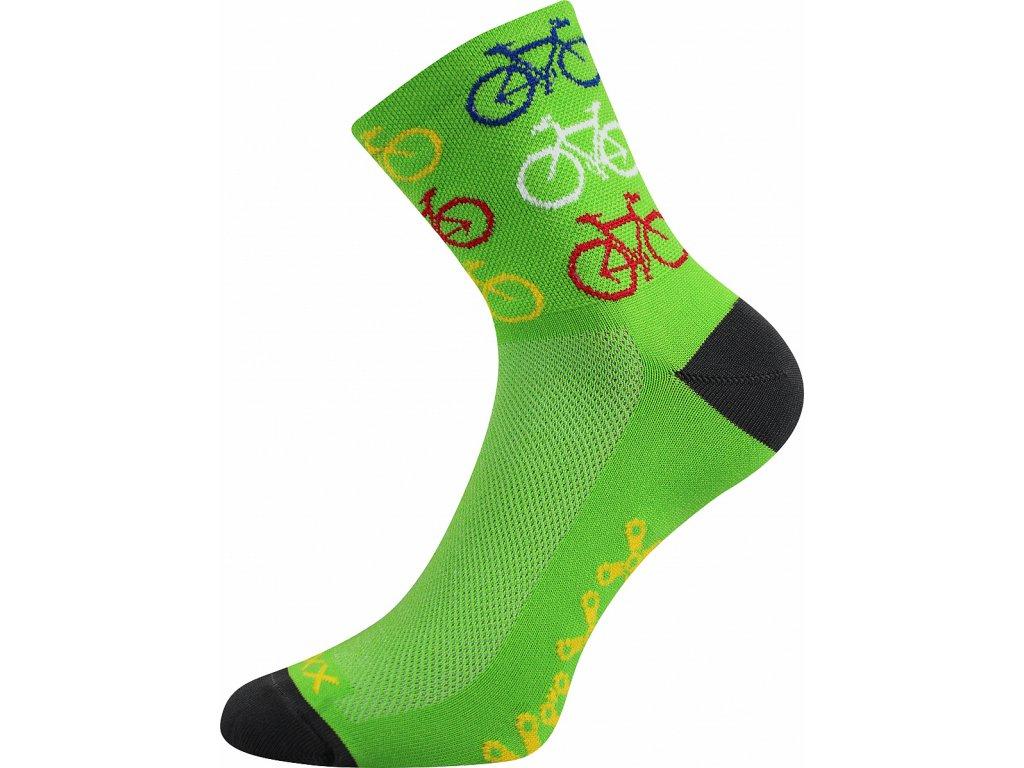 Ralf X bike zelena