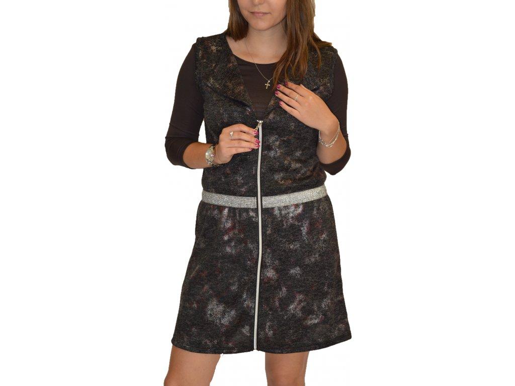 Tunika (vesta) na zip