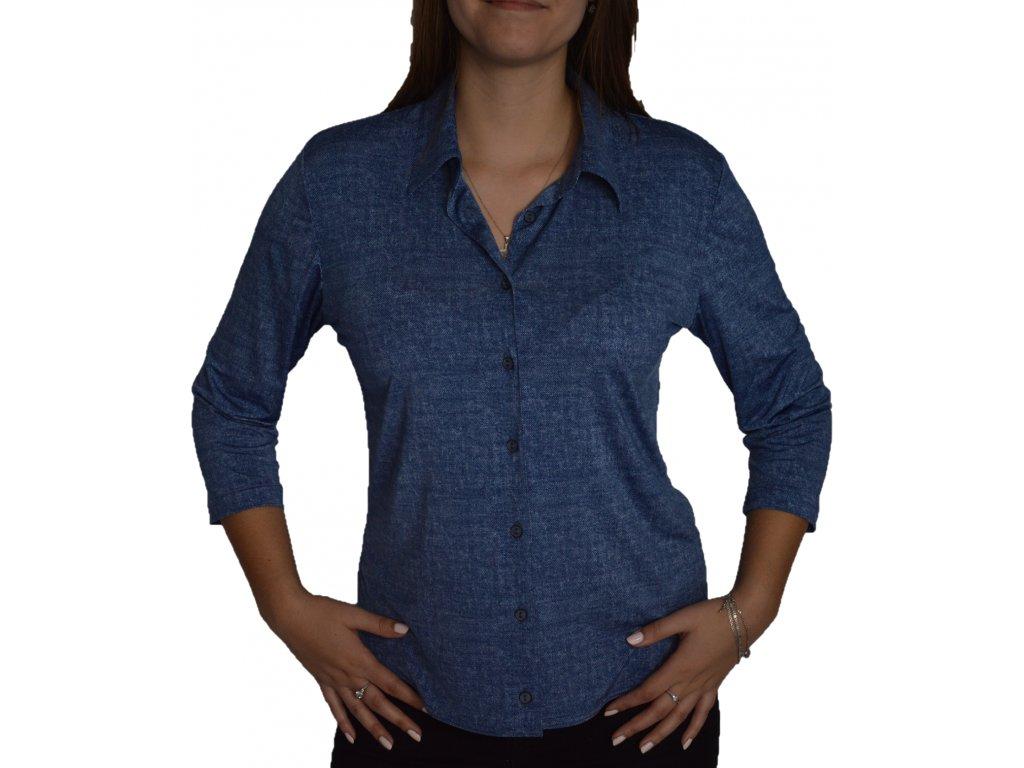 Košile Sabatti riflová