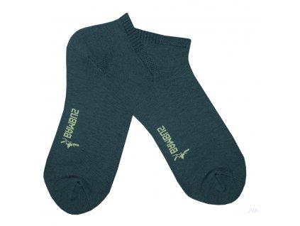 Bambusové ponožky RS kotníkové - šedá