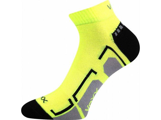 ponožky voxx Flash neon žlutá