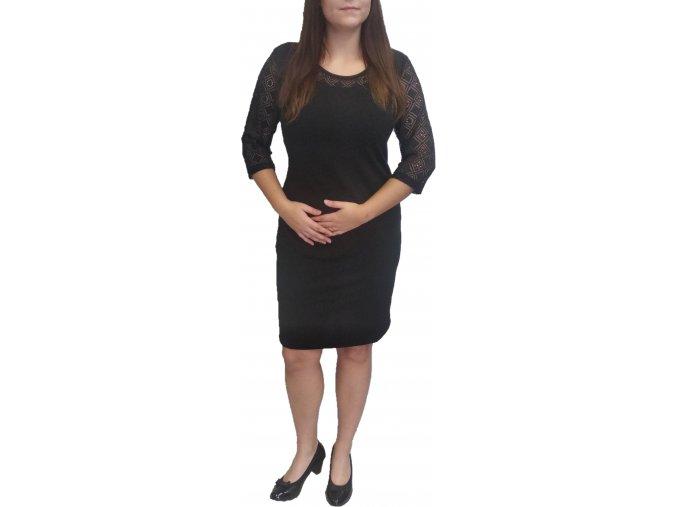 Šaty Sabatti černé