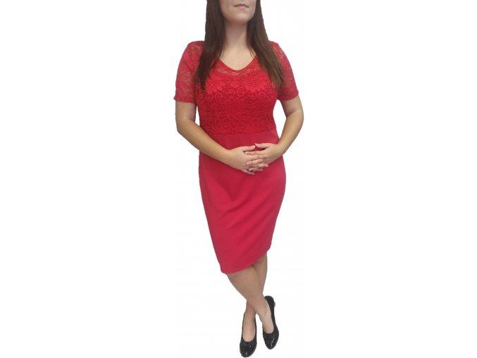 Šaty Sabatti červené
