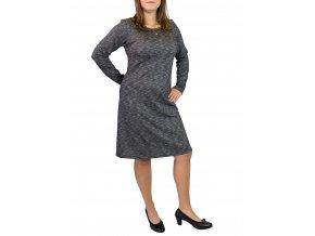 šaty Ardewo šedý melír