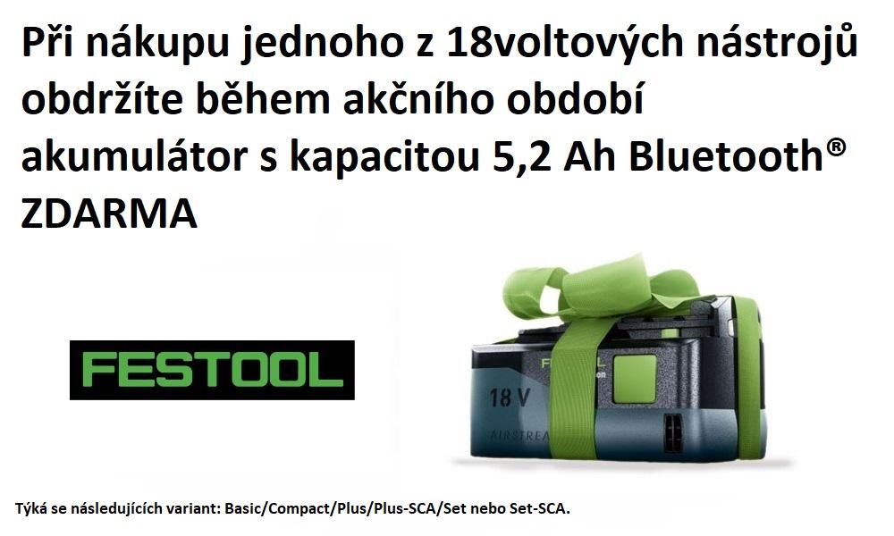 Festool baterie zdarma