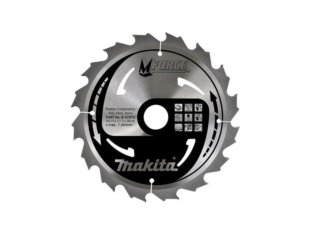 MForce pilový kotouč Makita 165x20mm, 16zubů