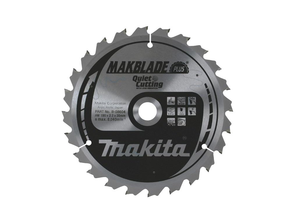 MAKBLADE Plus pilový kotouč Makita 250x30mm, 80zubů ( S )