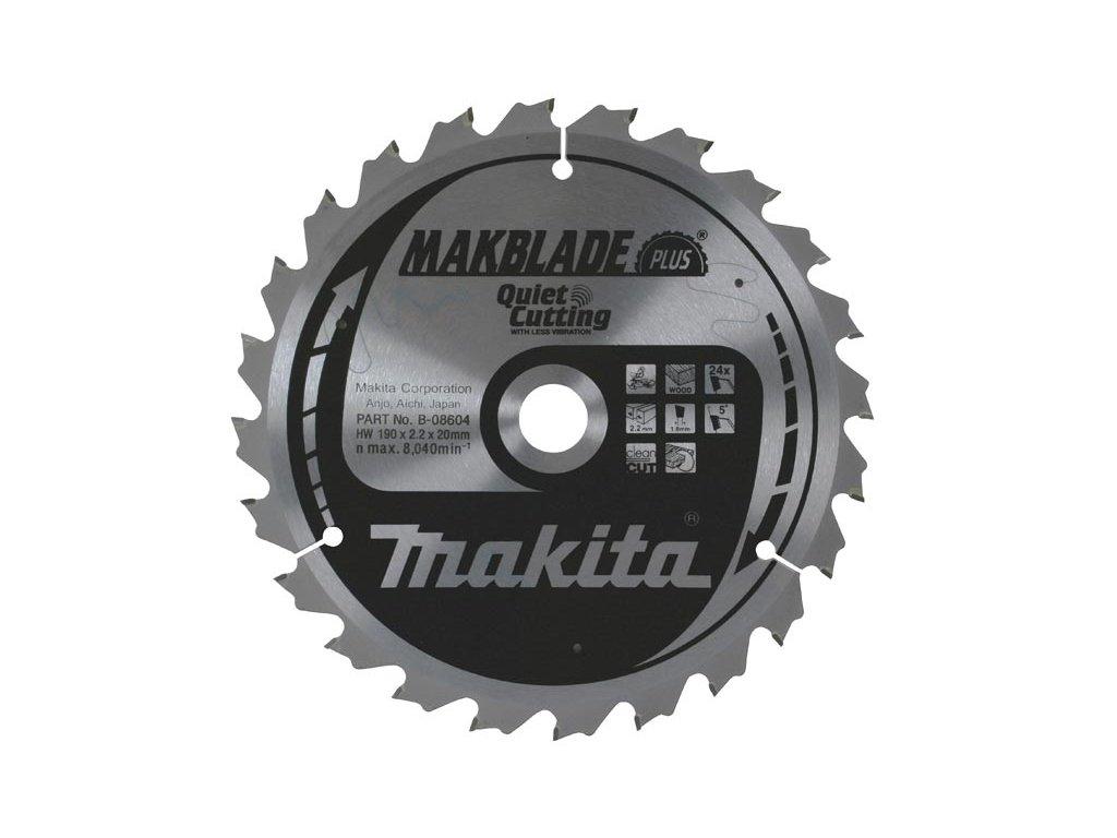 MAKBLADE Plus pilový kotouč Makita 255x30mm, 72zubů ( P )
