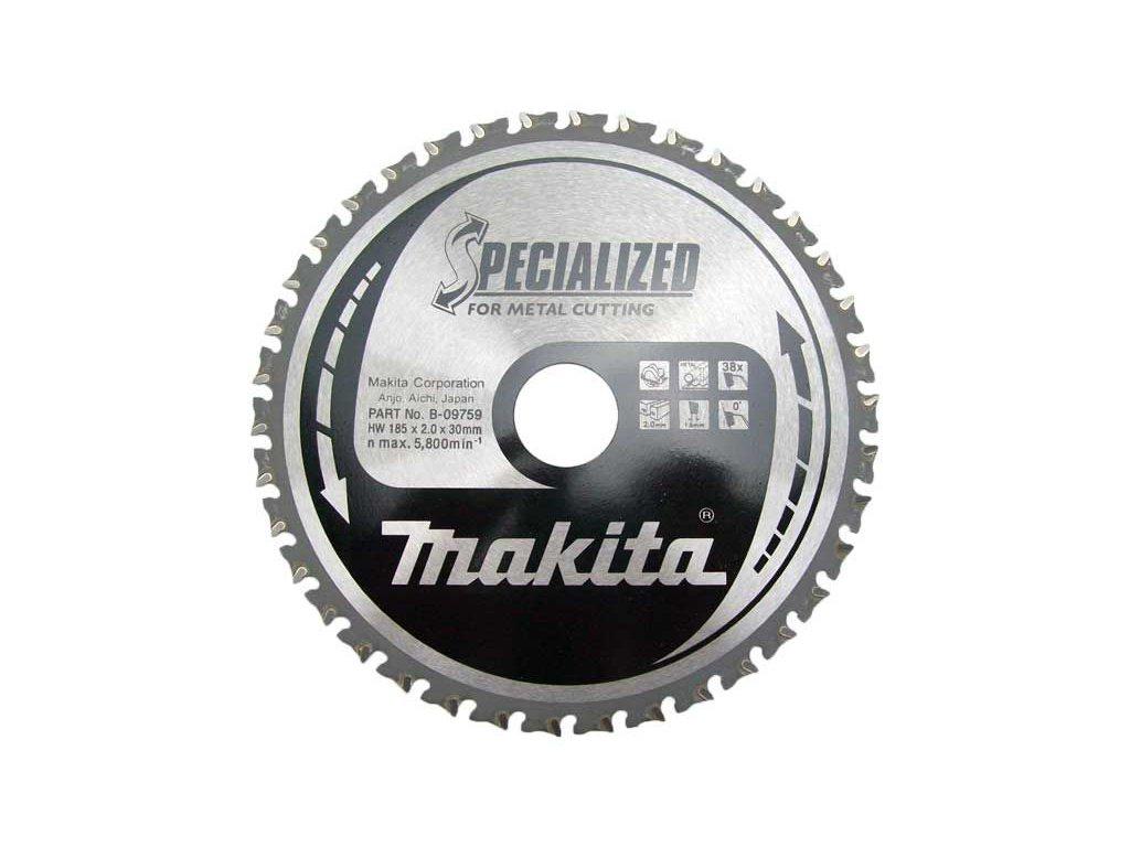 Pilový kotouč na řezání tenký oceli Makita 150x20mm, 52zubů