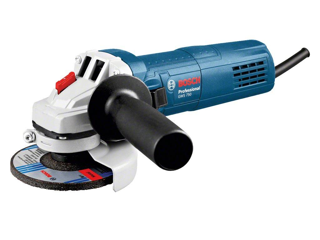 Úhlová bruska Bosch GWS 750 S Professional 0601394121