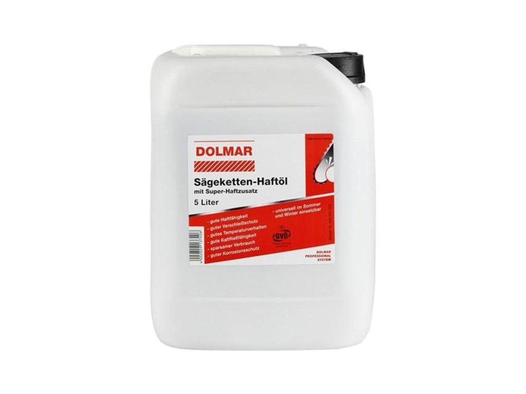 Bio olej pro mazání řetězů Dolmar 5L 988003258
