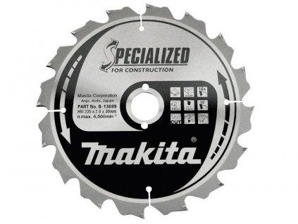 Pilový kotouč Konstrukt Makita 235x30mm, 16zubů