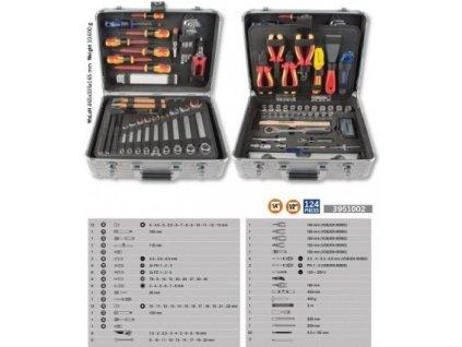 Univerzální elektro kufr 125 dílů PROJAHN 3951002