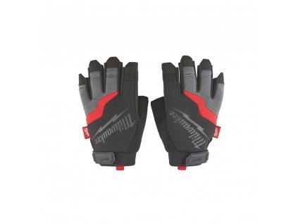 Milwaukee pracovní rukavice bez prstů