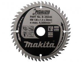 Pilový kotouč pro řezání lamina Makita 190x20mm, 60zubů ( P )