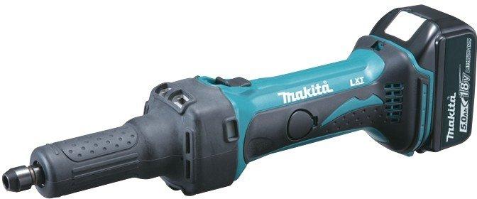 Aku přímá bruska Makita DGD800RFJ Li-ion 18V/3,0Ah
