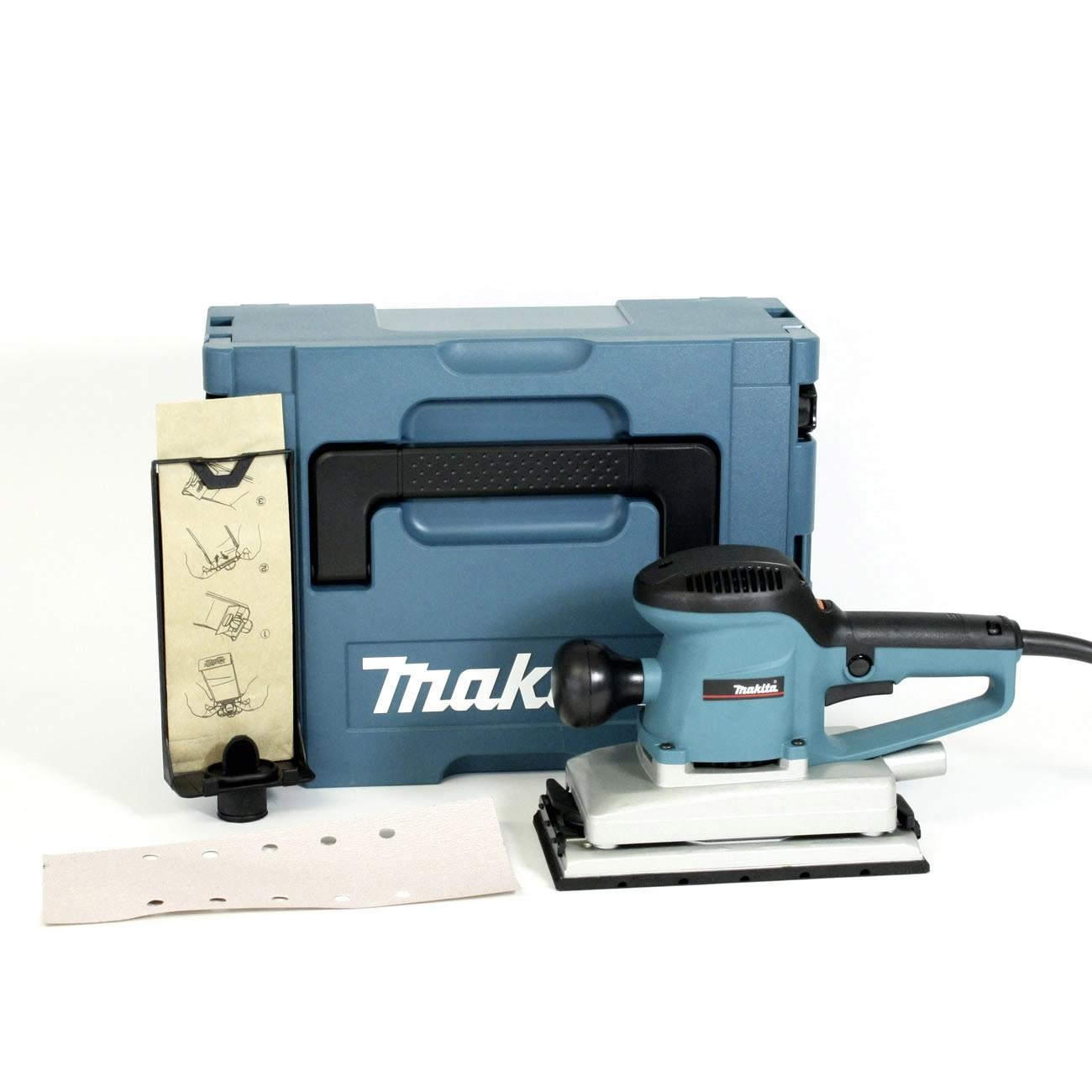 Vibrační bruska s regulací Makita BO4900VJ 115x229mm, 330W