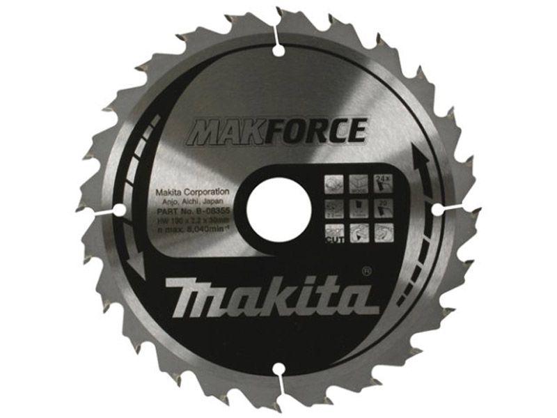 MakForce pilový kotouč Makita 160x20mm, 24zubů