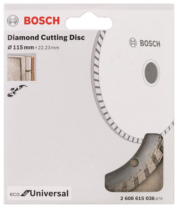 Diamantový kotouč Bosch Universal turbo 115mm 2608615036