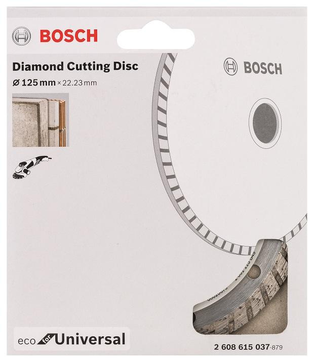 Diamantový kotouč Bosch Universal turbo 125mm 2608615037
