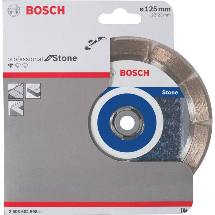 Diamantový kotouč Bosch Stone 125mm 2608602598