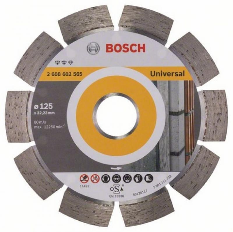 Diamantový kotouč Bosch Universal 125mm 2608602565