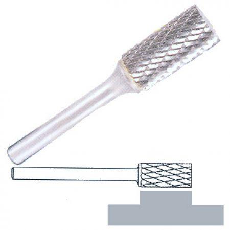 Fréza z tvrdokovu Klingspor HF100A Průměr (mm): 6, Výška (mm): 18, Celková délka (mm): 50, Průměr stopky (mm): 6, Ozubení: 6