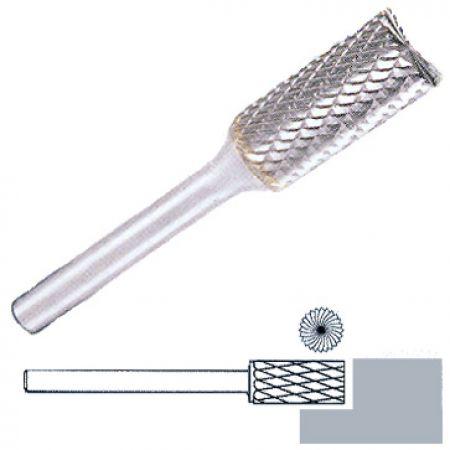 Fréza z tvrdokovu Klingspor HF100B Průměr (mm): 6, Výška (mm): 18, Celková délka (mm): 50, Průměr stopky (mm): 6, Ozubení: 6