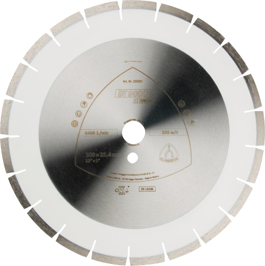 Diamantový kotouč Klingspor 450mm DT900U Special