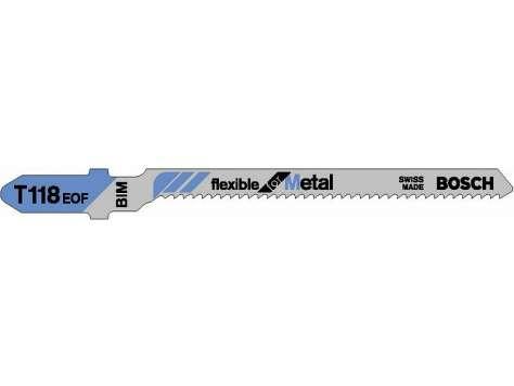 Pilový plátek do kmitací pily T 118 EOF Flexible for Metal