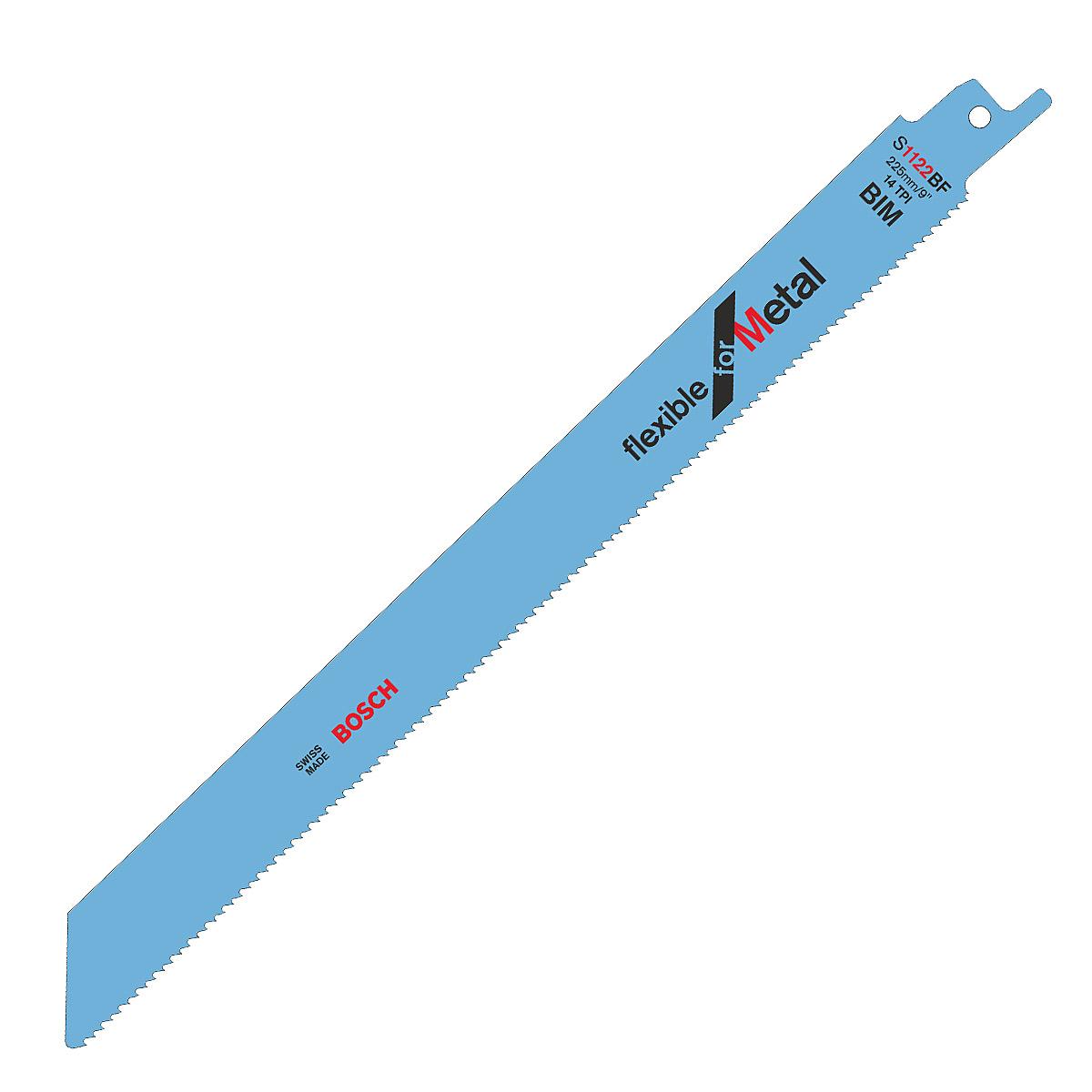 Pilový plátek pro pily ocasky S 1122 BF Flexible for Metal