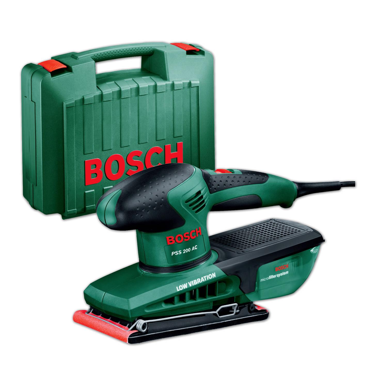 Vibrační bruska Bosch PSS 200 AC