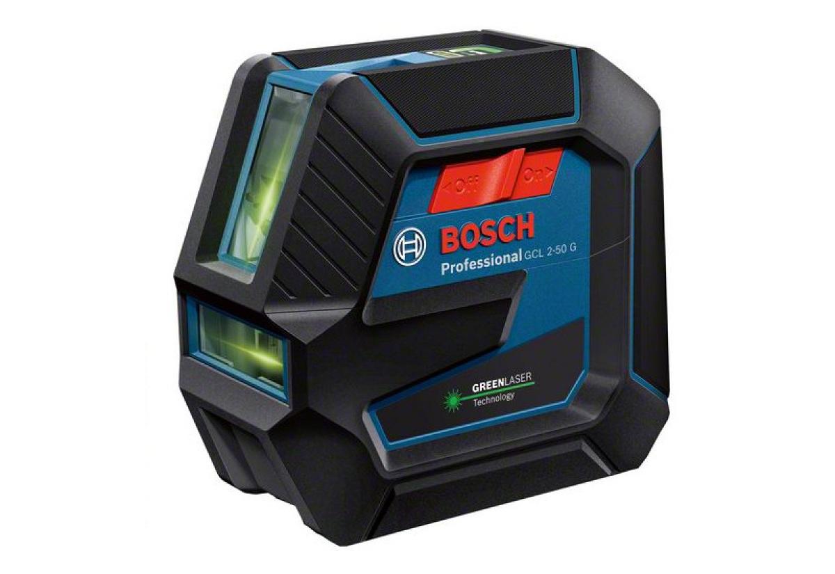 Křížový bodový laser Bosch GCL 2-15 G + RM1 + BM3 + kufr Professional