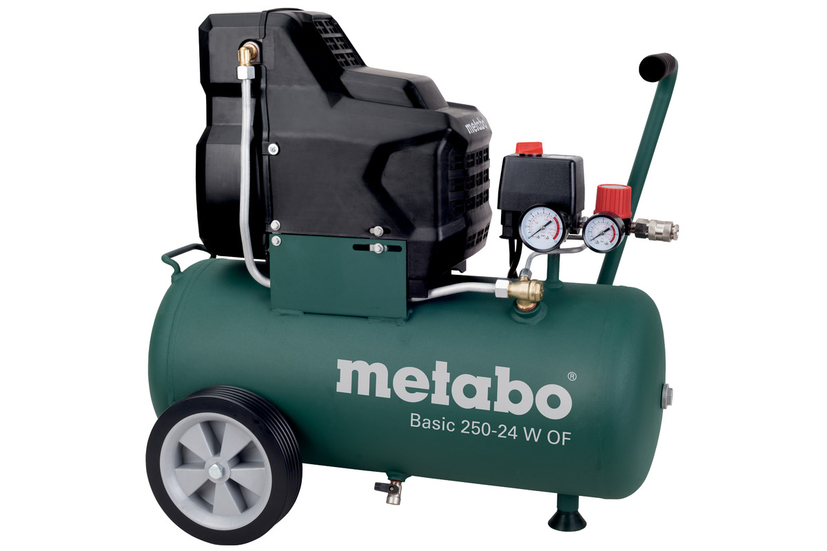 Olejový kompresor Metabo Basic 250-24 W
