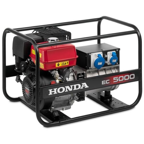 Rámová profesionální elektrocentrála Honda EC5000