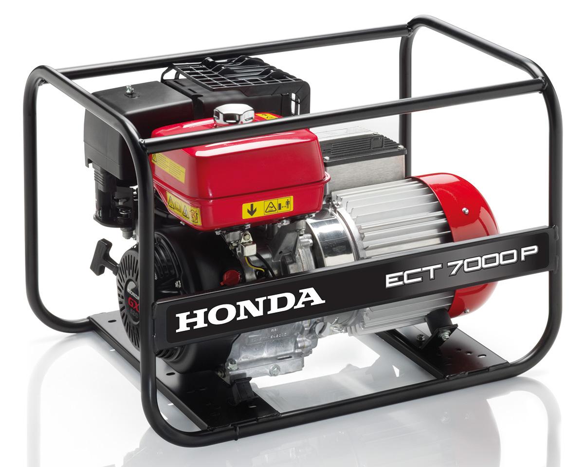 Rámová profesionální elektrocentrála Honda ECT7000 P G