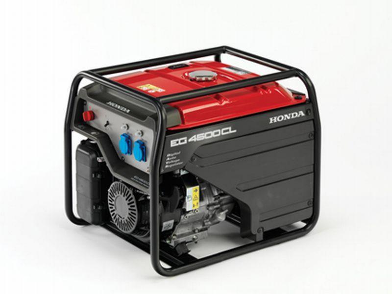 Rámová profesionální elektrocentrála Honda EG 4500 CL