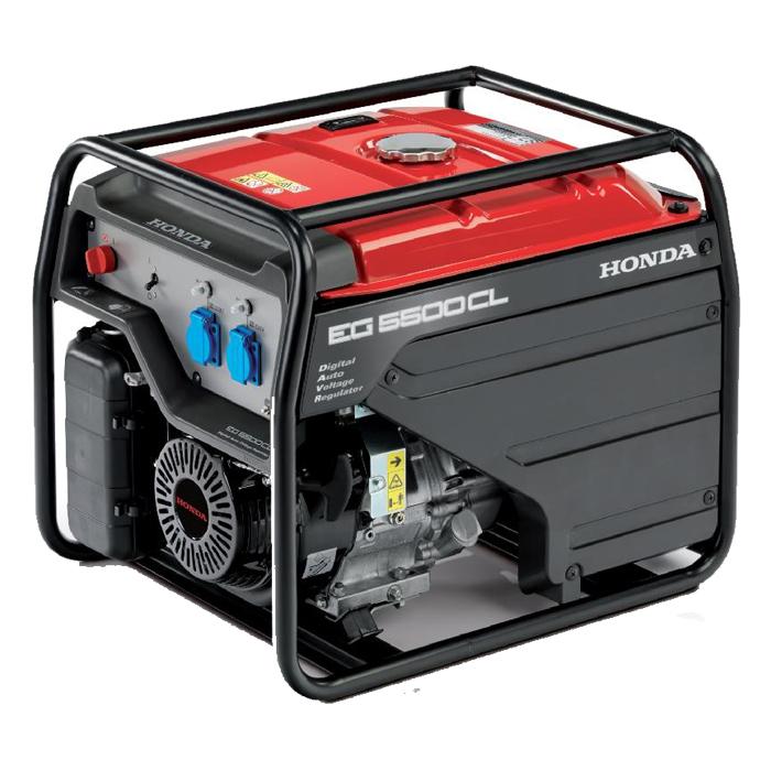 Rámová profesionální elektrocentrála Honda EG5500