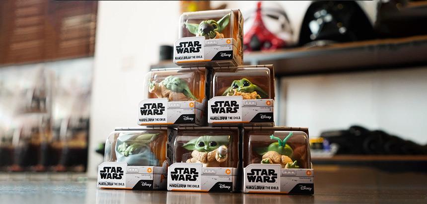 Baby Yoda bounty Collection