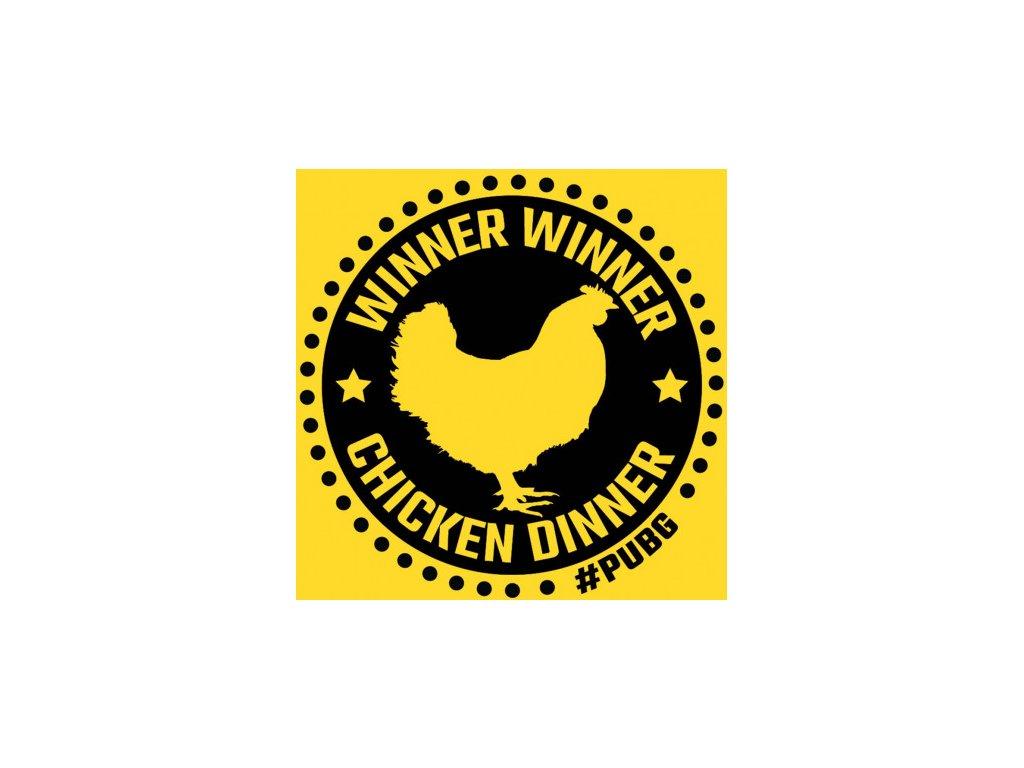 Winner Chicken Dinner - herní tričko