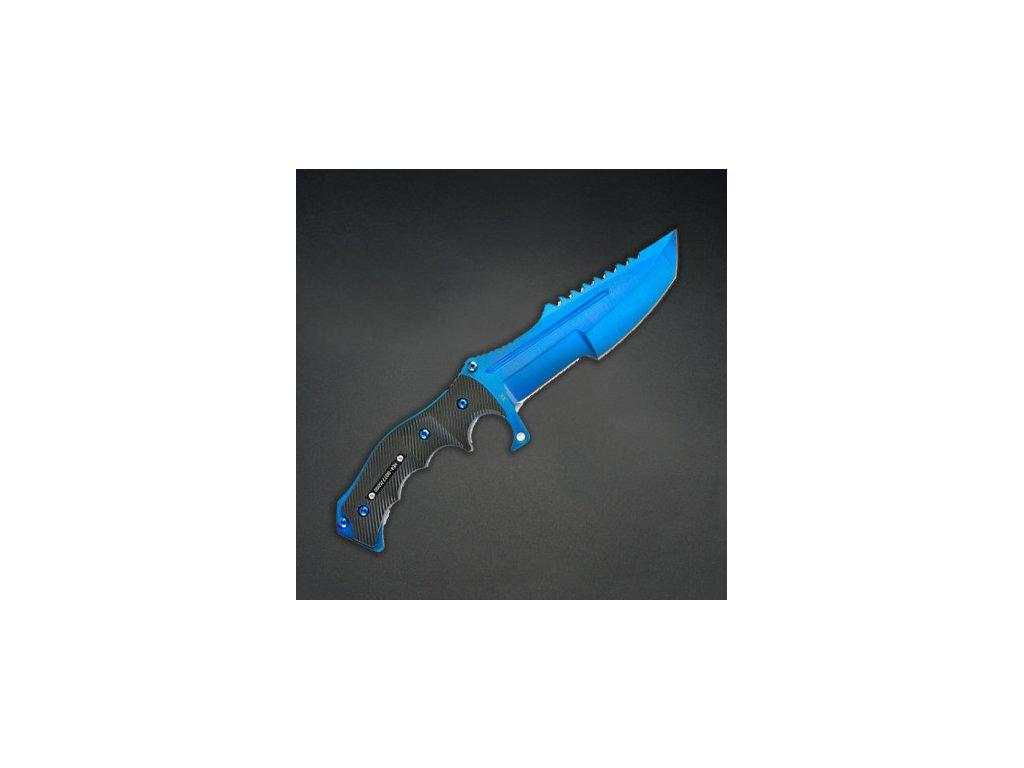 Counter-Strike Fadecase nůž - Huntsman Elite - Blue Steel