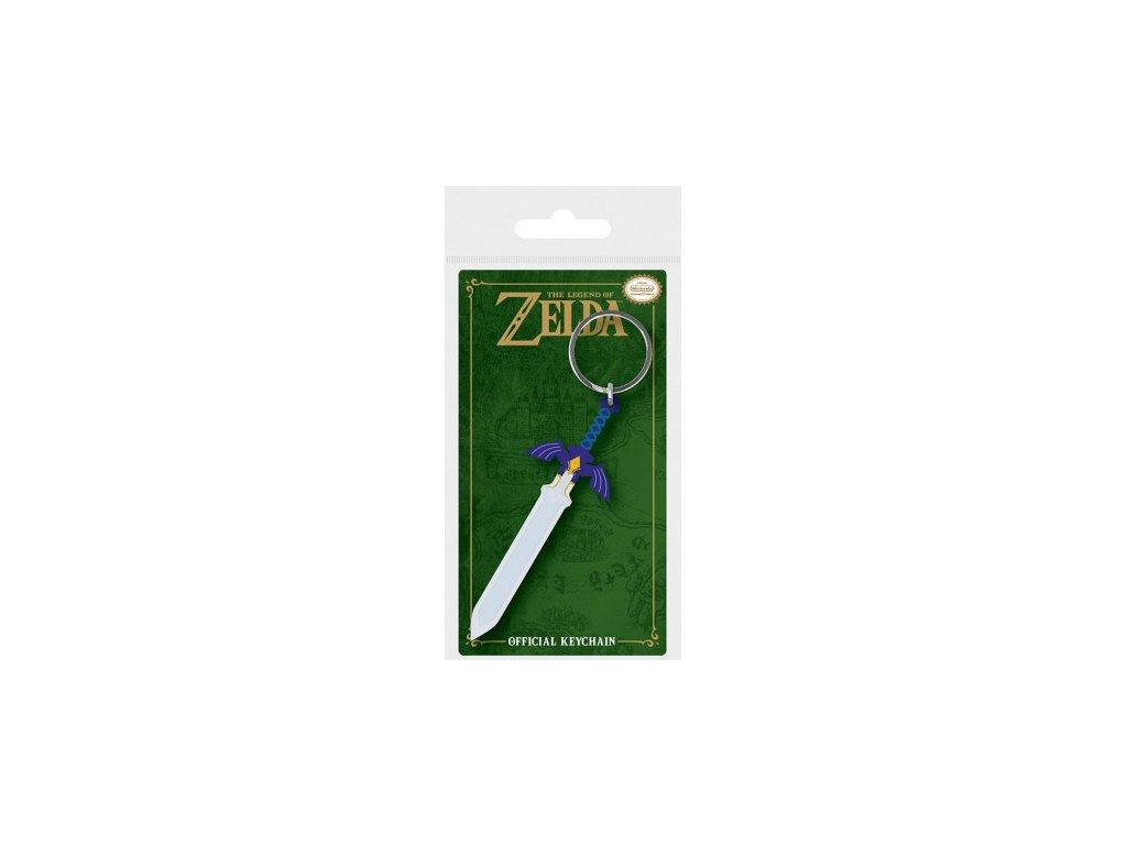 Legend of Zelda - klíčenka - Master Sword
